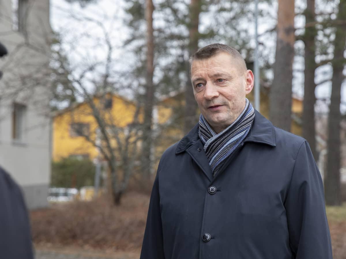 Parikkalan kunnanjohtaja Vesa Huuskonen.