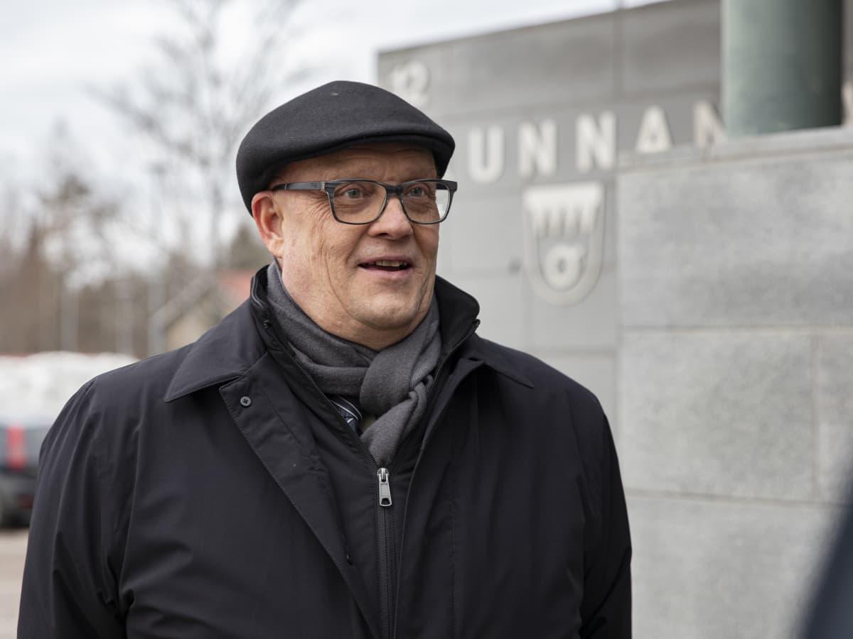 Rautjärven kunnanjohtaja Harri Anttila.