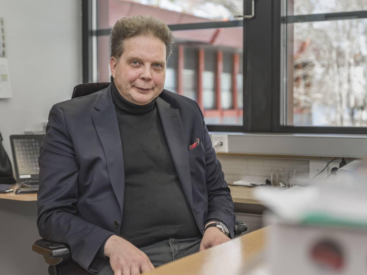 Pihtiputaan kunnanjohtaja Ari Kinnunen