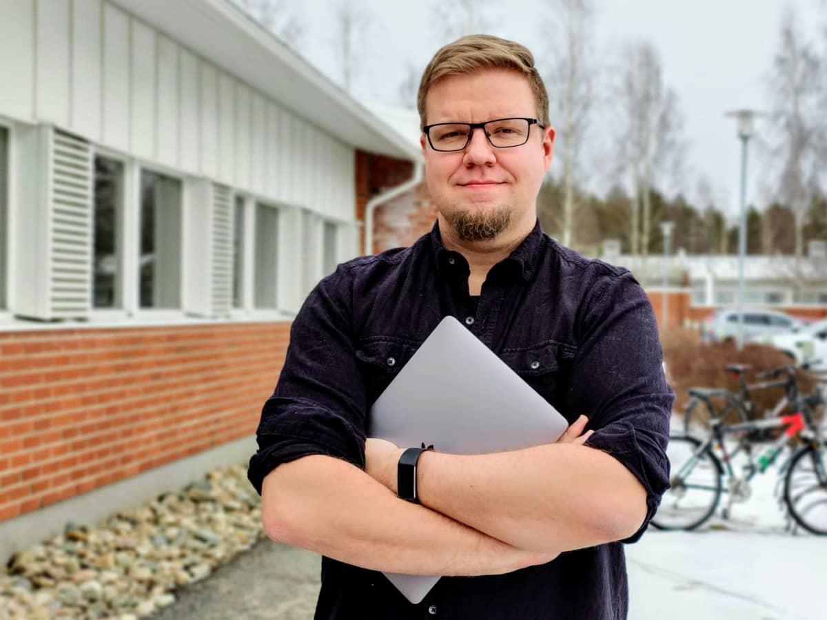 Kybervpk:n jäsen Mikko Kenttälä