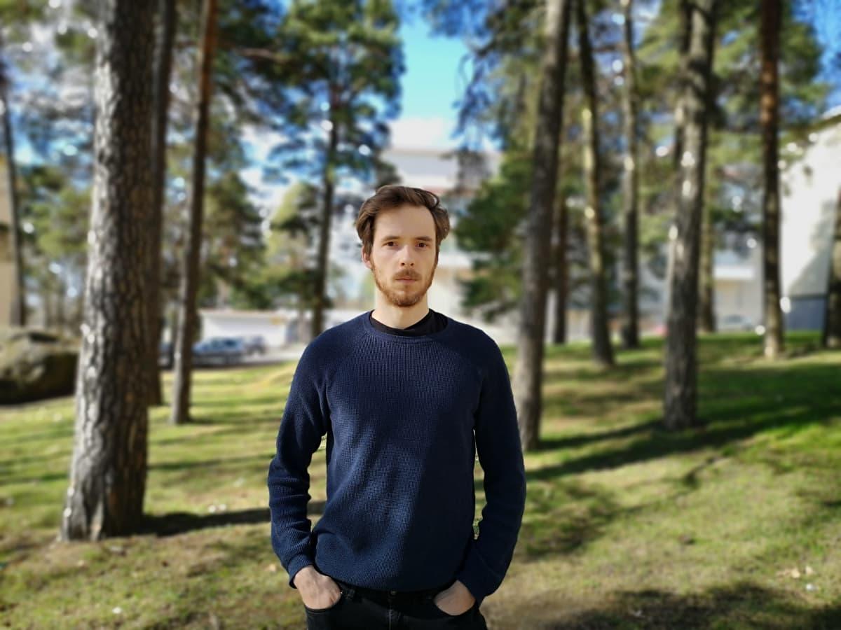Taloustieteen tohtori Matti Hovi.