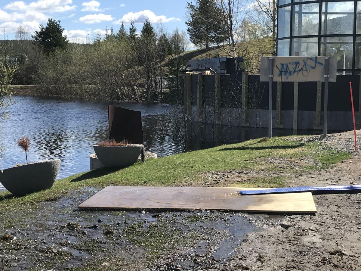 Tulva Rovaniemellä 2020