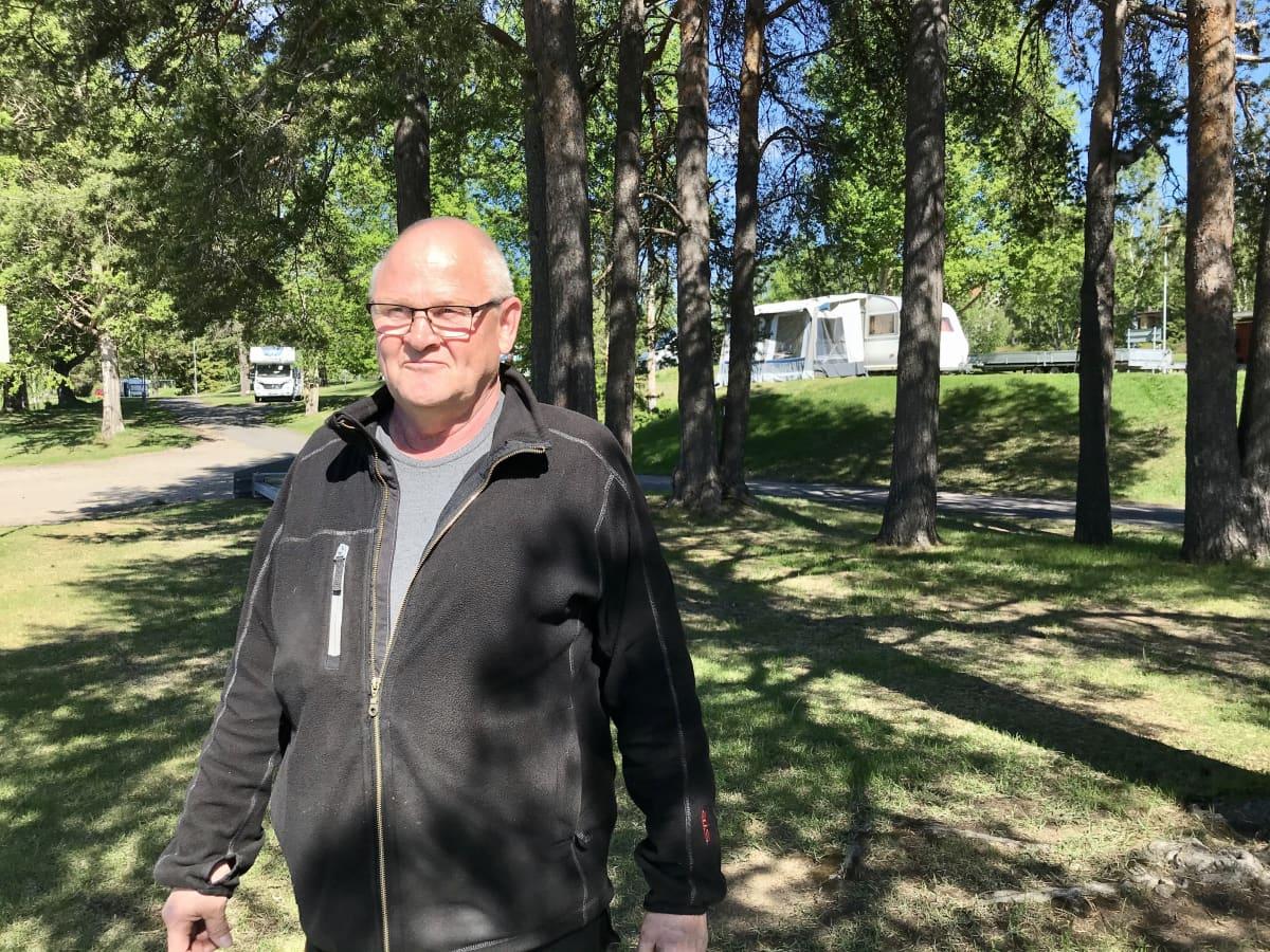Ounaskosken leirintäalue Rovaniemellä.