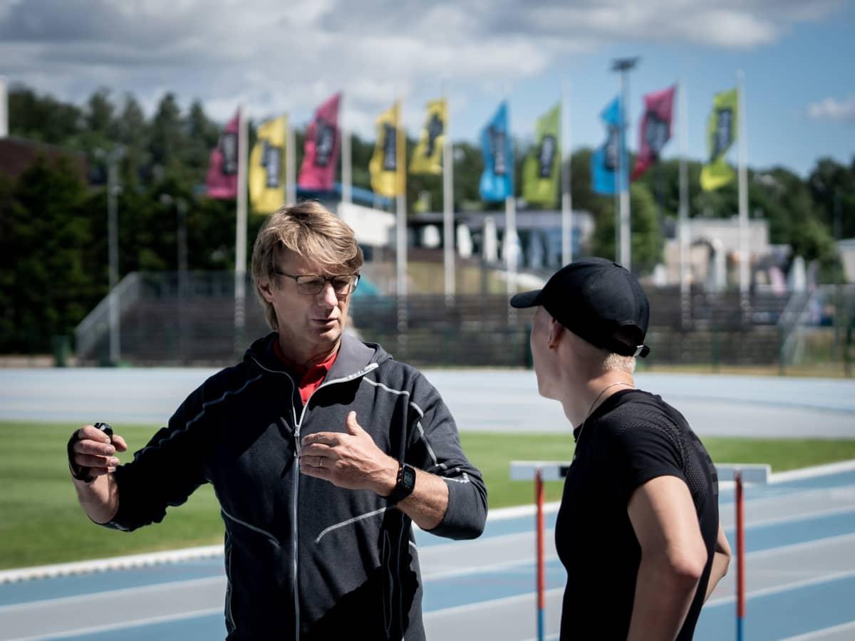Mikael Ylöstalo ja Samuli Samuelsson