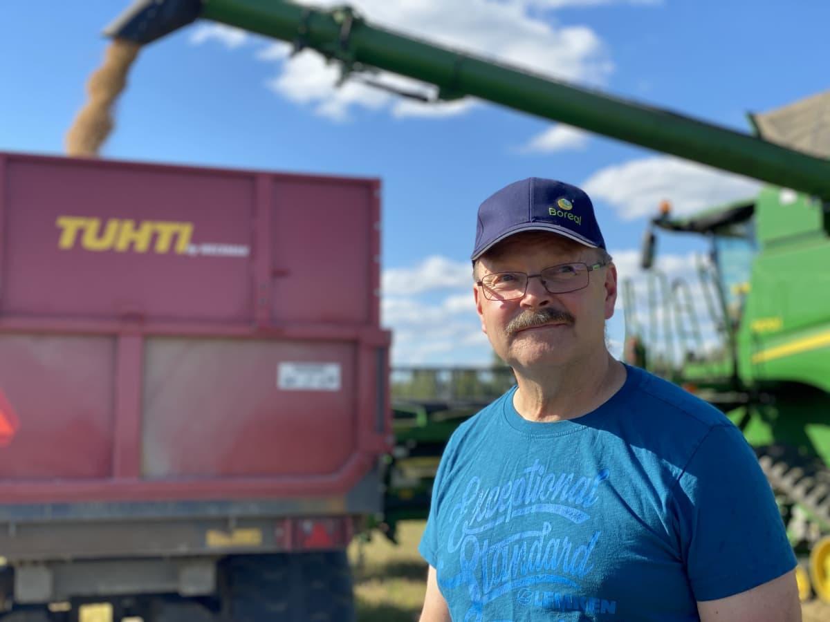 Maanviljelijä Heikki Mäkelä