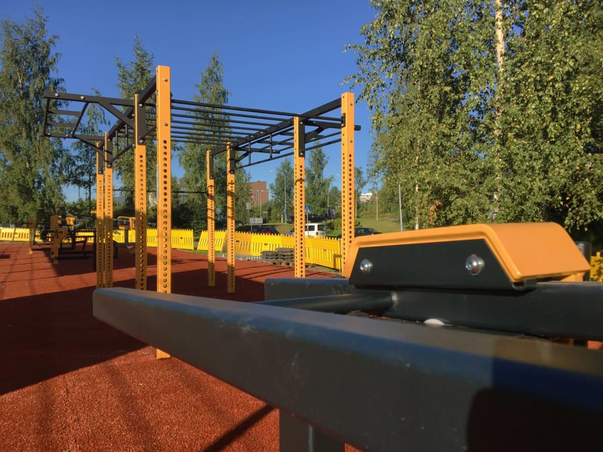 Puotilaan rakennettiin uusi ulkoliikuntapaikka Helsingin kaupungin osallistuvan budjetoinnin äänestystuloksen perusteella.