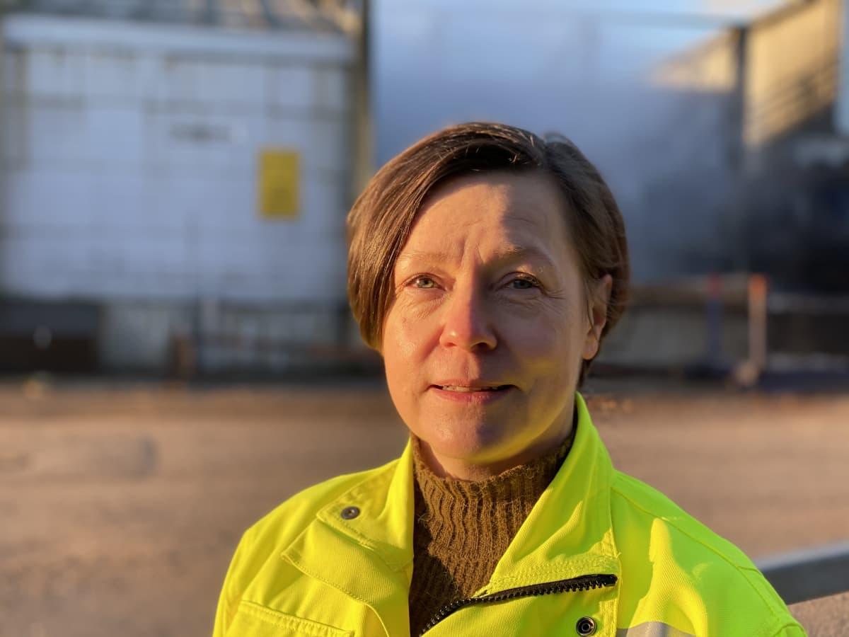 Koskisen Oy:n henkilöstö- ja viestintäpäällikkö Minna Luomalahti