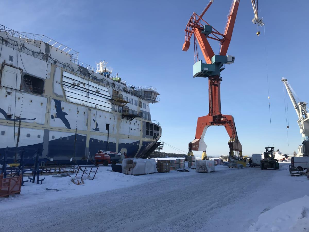 Rauman telakka,  Rauma Marine Constructions.