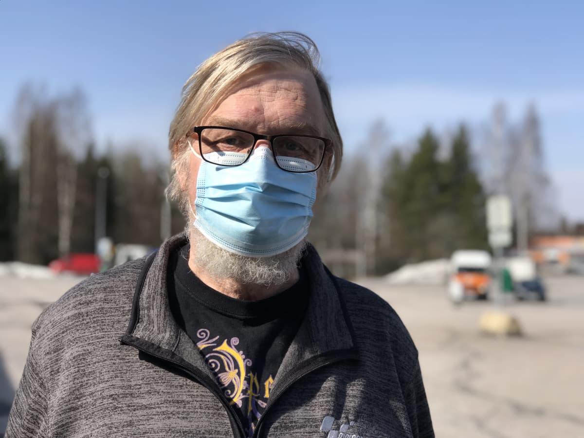 Tamperelainen liikenneopettaja Markku Koivistoinen