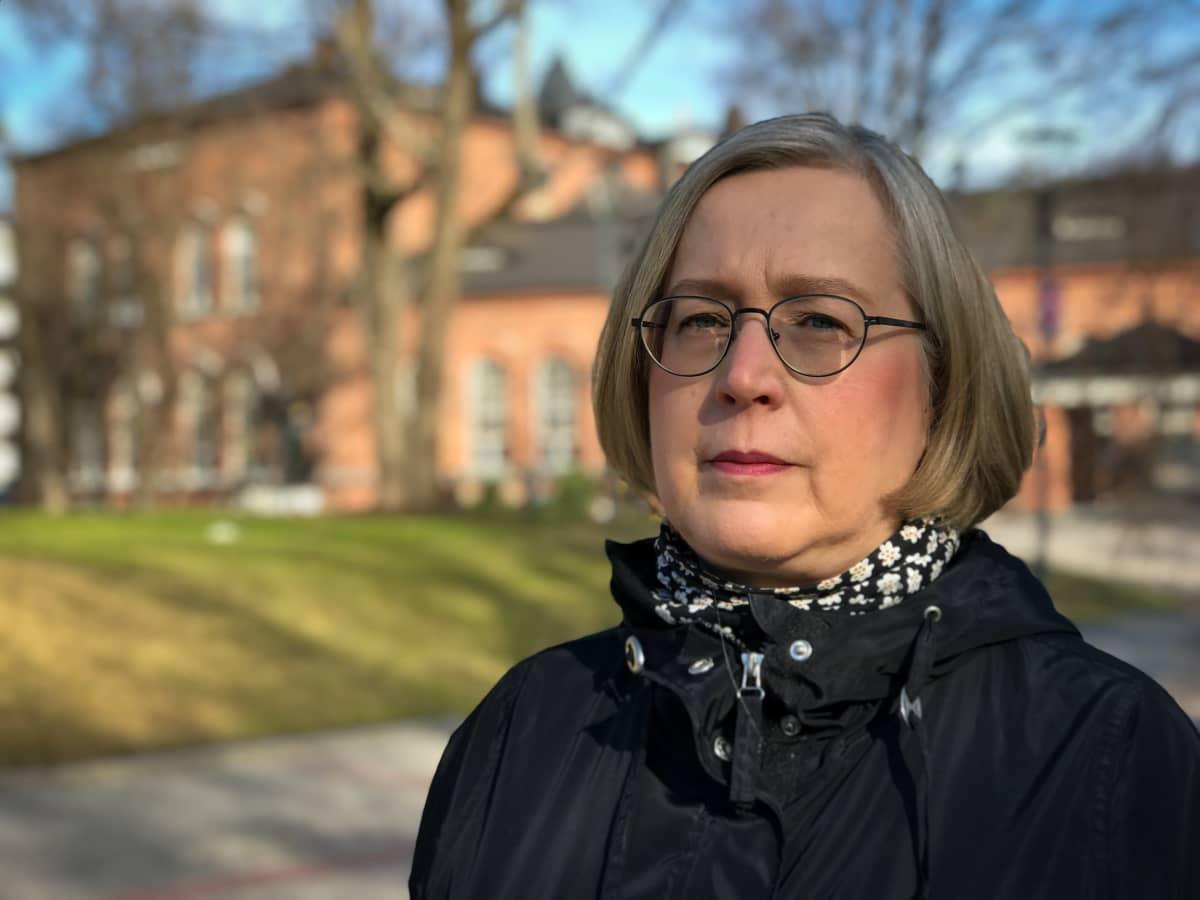 Pia Hastio yleiskaavapäällikkö Tampereen kaupunki