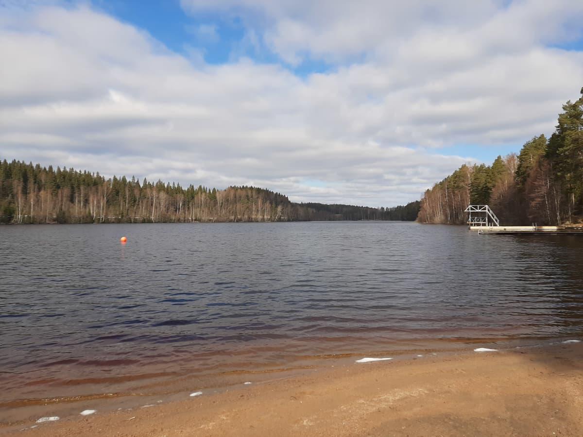 Köhniöjärvi Jyväskylässä.