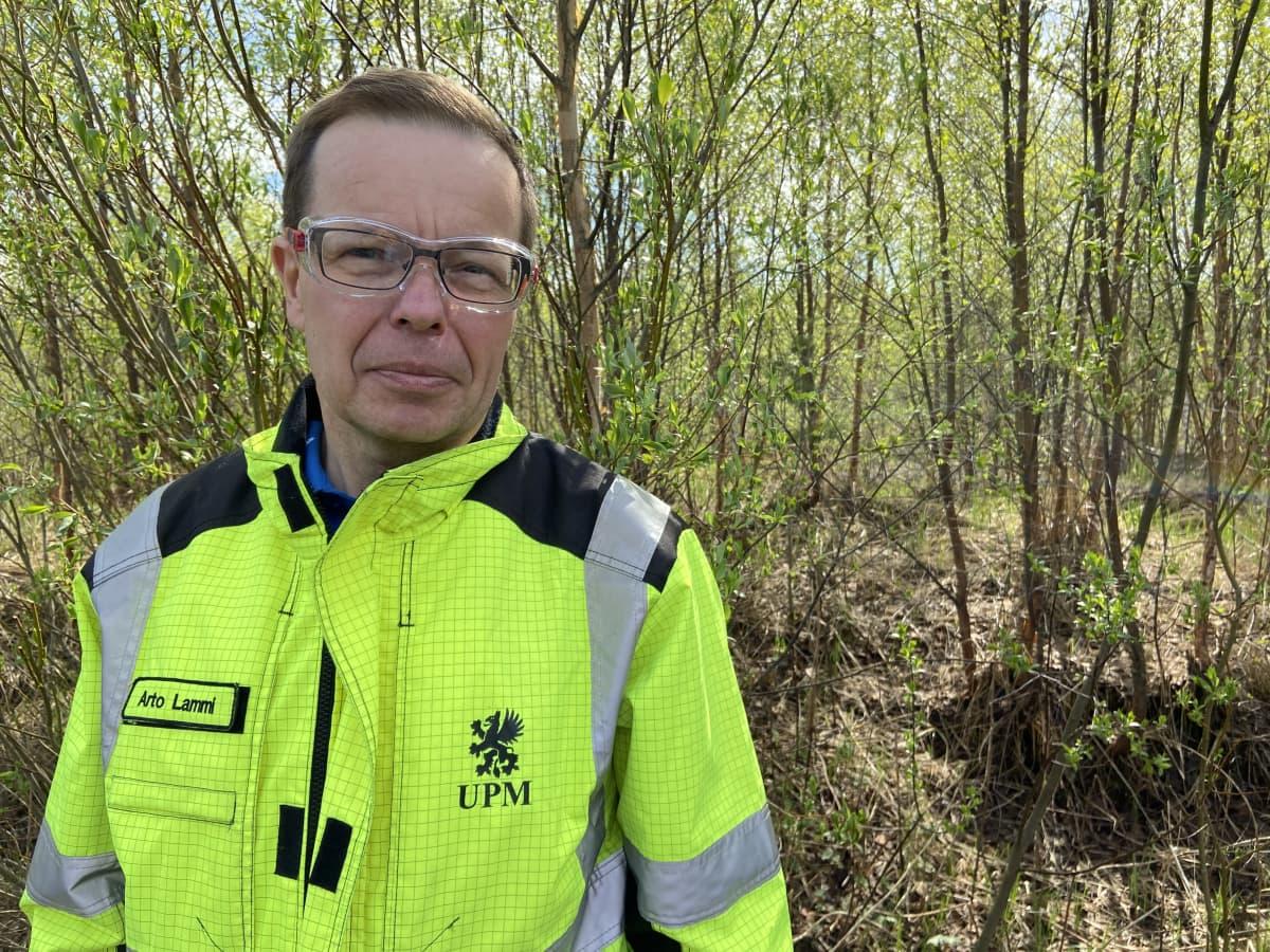 UPM:n metsäasiakaspäällikkö Arto Lammi.