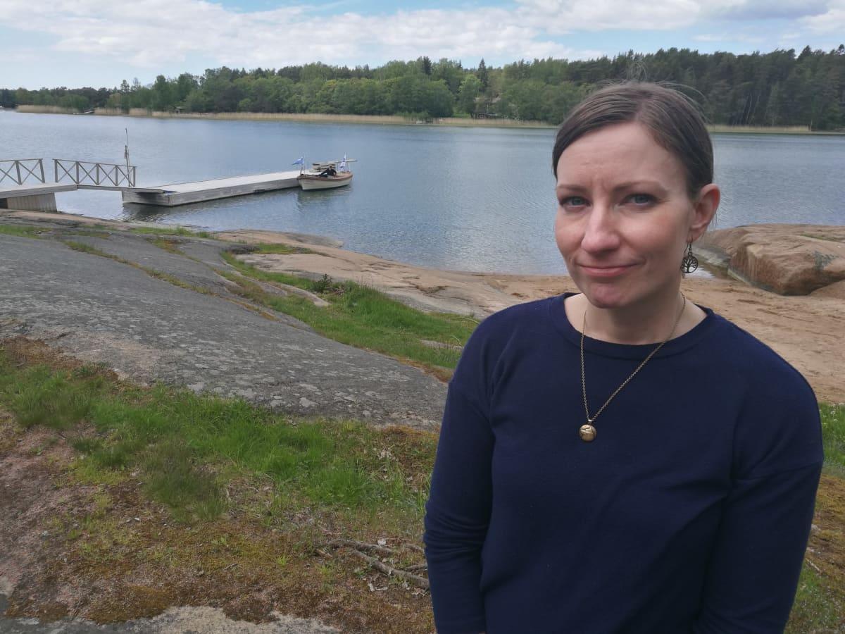 Salla Fagerström Kustavissa.