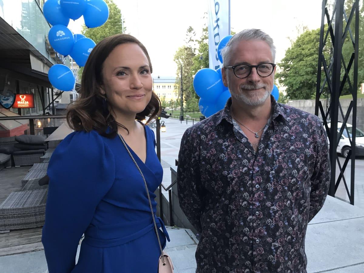 Karoliina Partanen ja Marko Kilpi