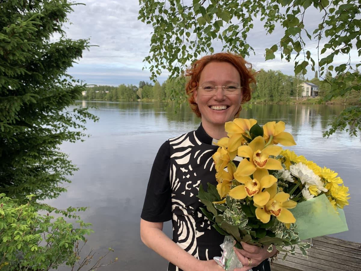 Imatran uudeksi kirkkoherraksi valittiin 49-vuotias Mari Parkkinen.
