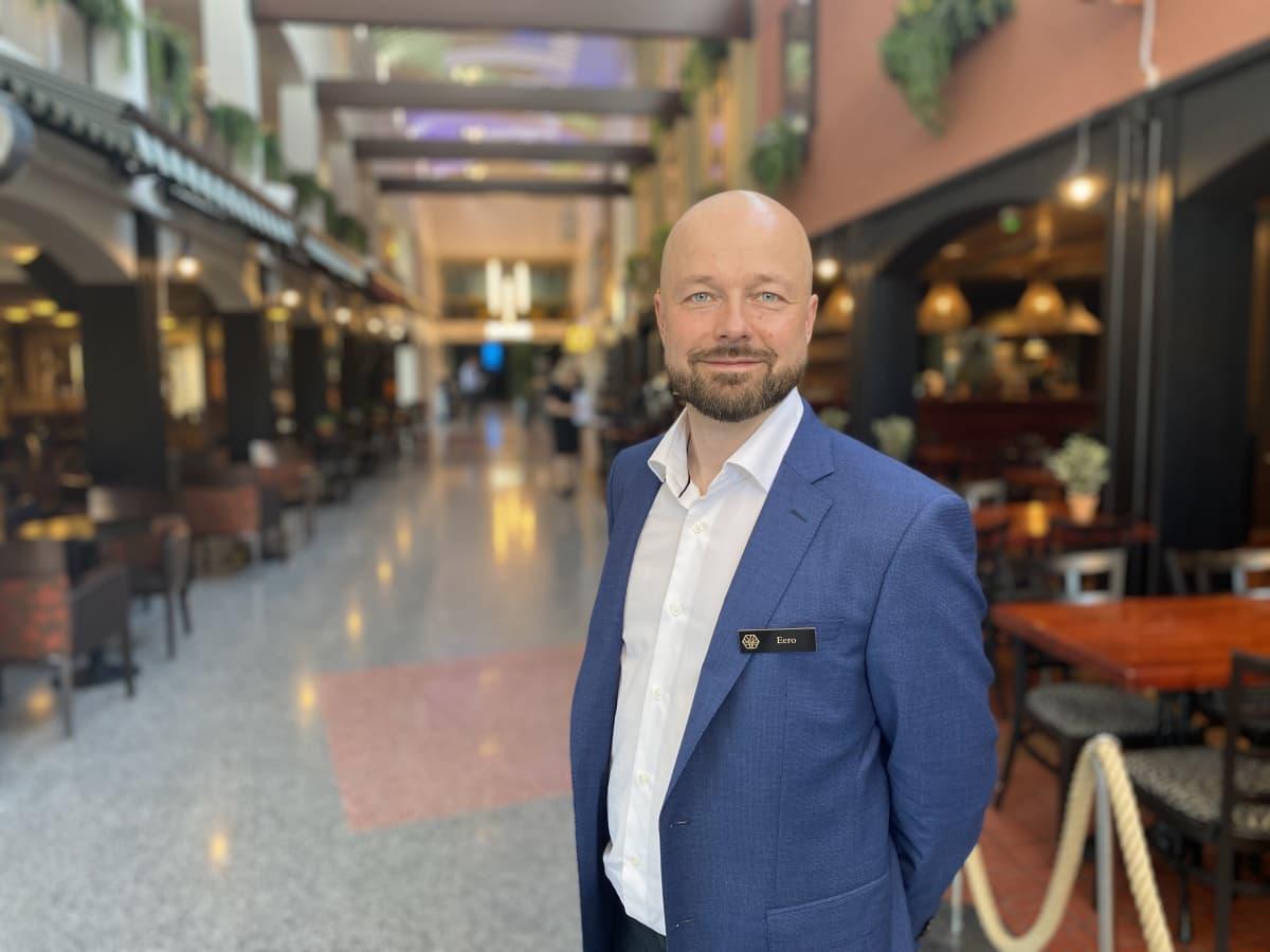 Eero Aho, toimitusjohtaja, Ikaalinen Spa & Resort