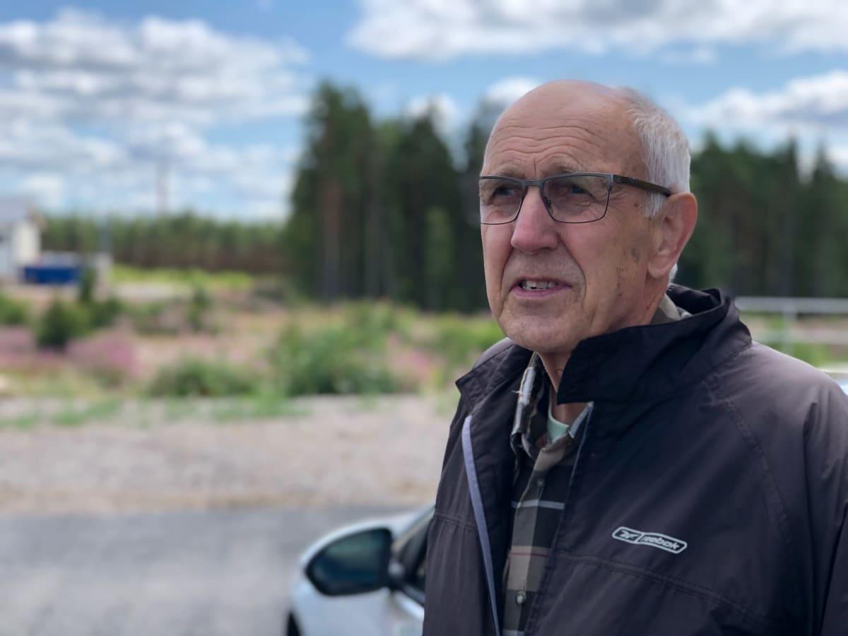 Matti Laurila toi kuolleita kiiskiä säkyläläiselle biojalostamolle.