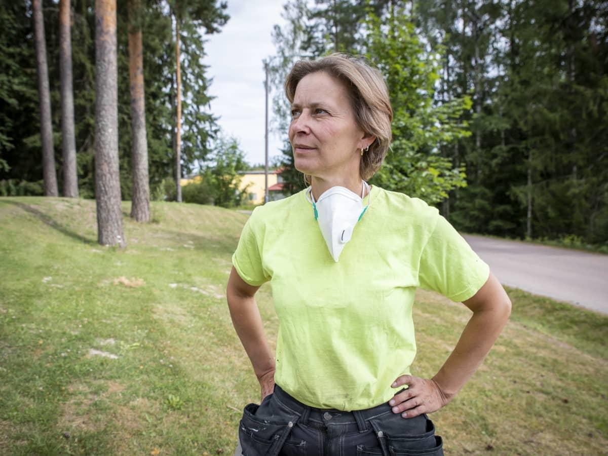 Toimitusjohtaja Mervi Salminen, Temagroup Oy.