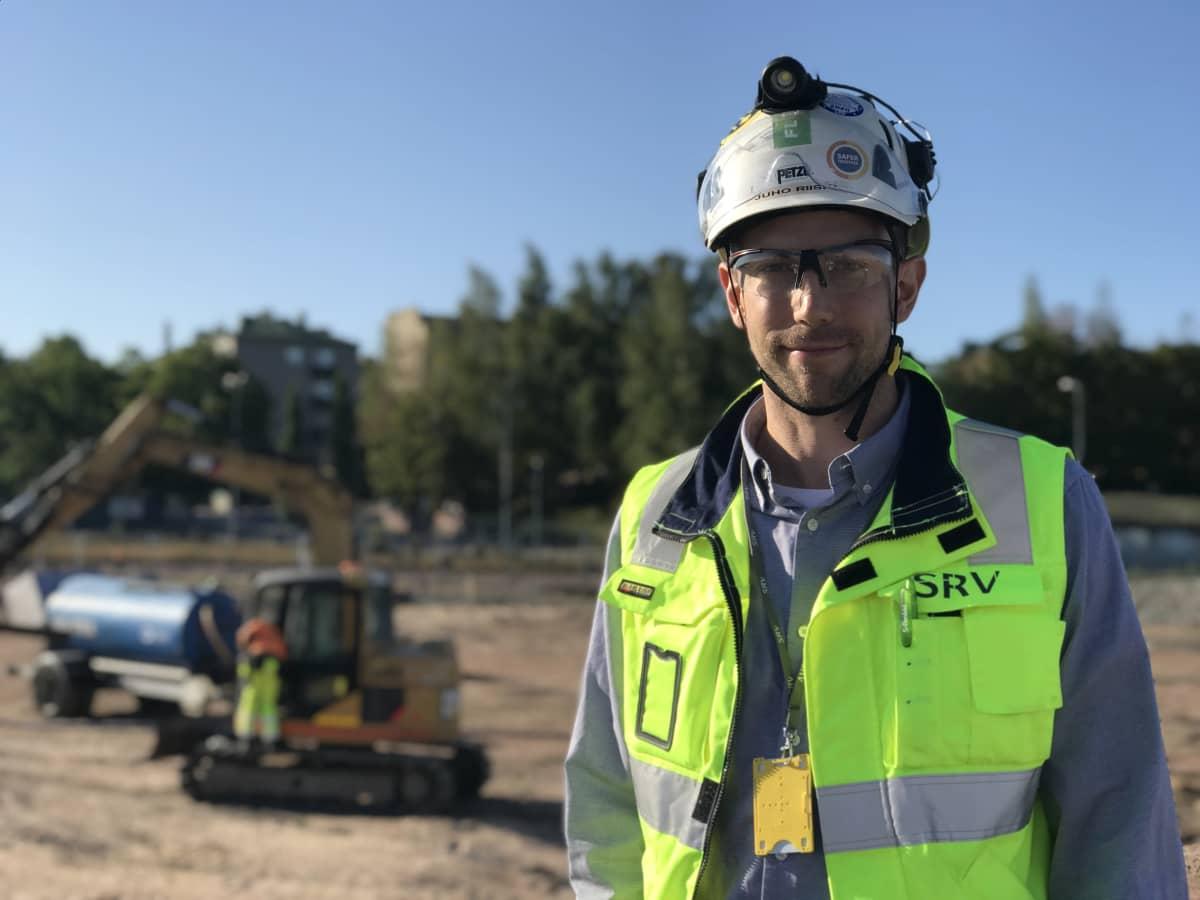 SRV:n projekti-insinööri Juho Riisiö.