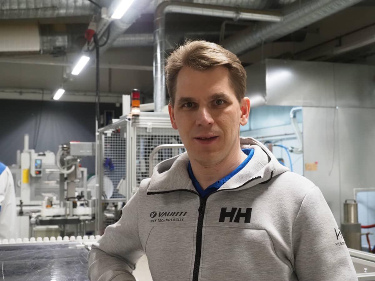 Vauhti Speed Oy:n toimitusjohtaja Esa Puukilainen.