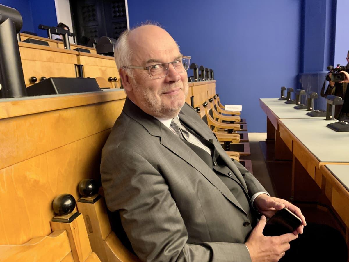 Viron vuoden 2021 presidenttiehdokas Alar Karis