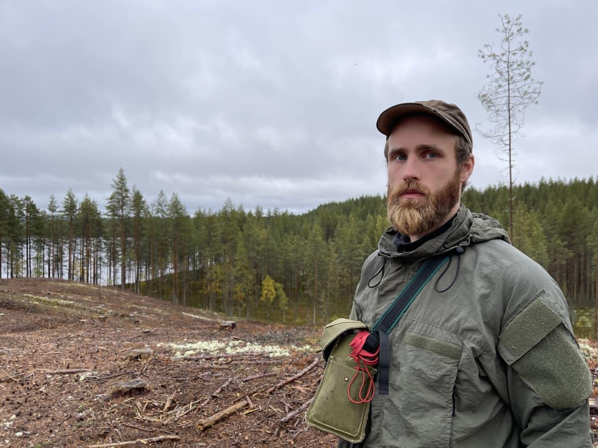 Luontokartoittaja Joni-Matti Kusmin