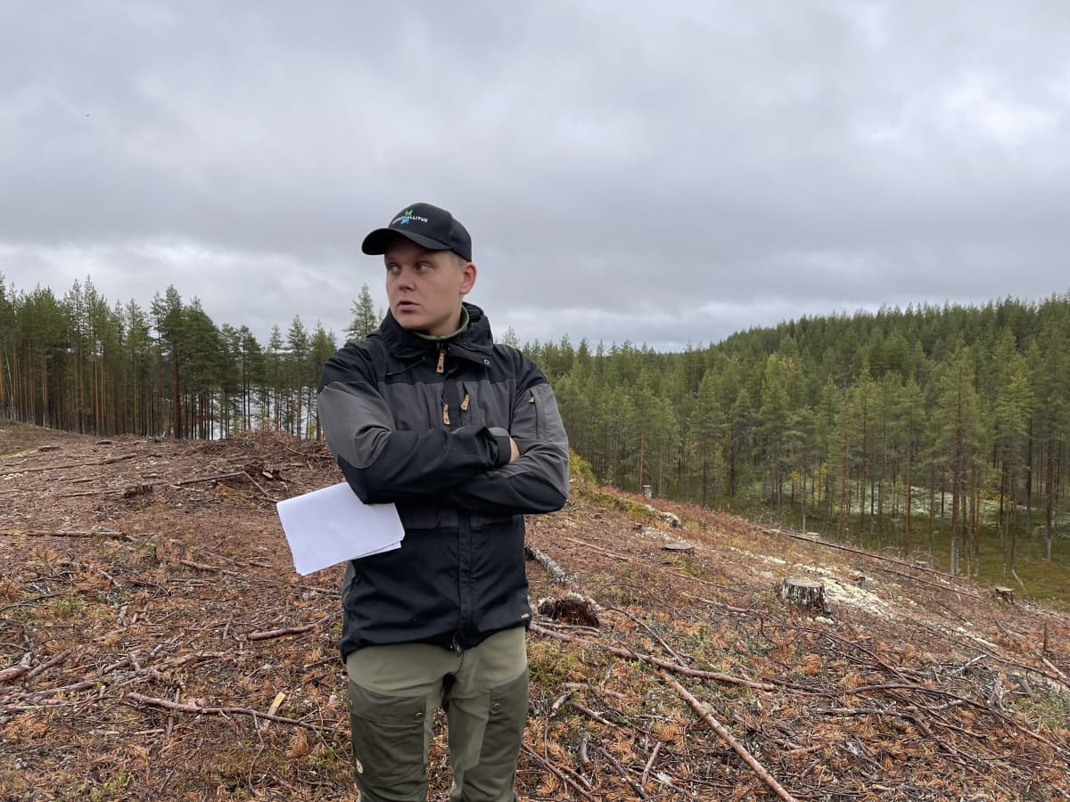 Tiimiesimies Antti Saari, Metsähallitus, Lieksa