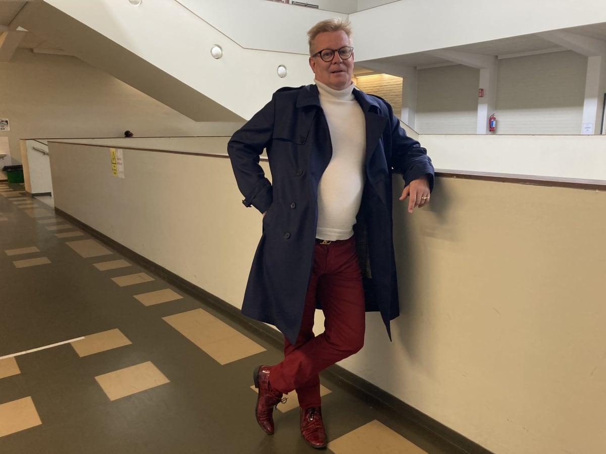 Kouvolan lakritsin toimitusjohtaja Timo Nisula