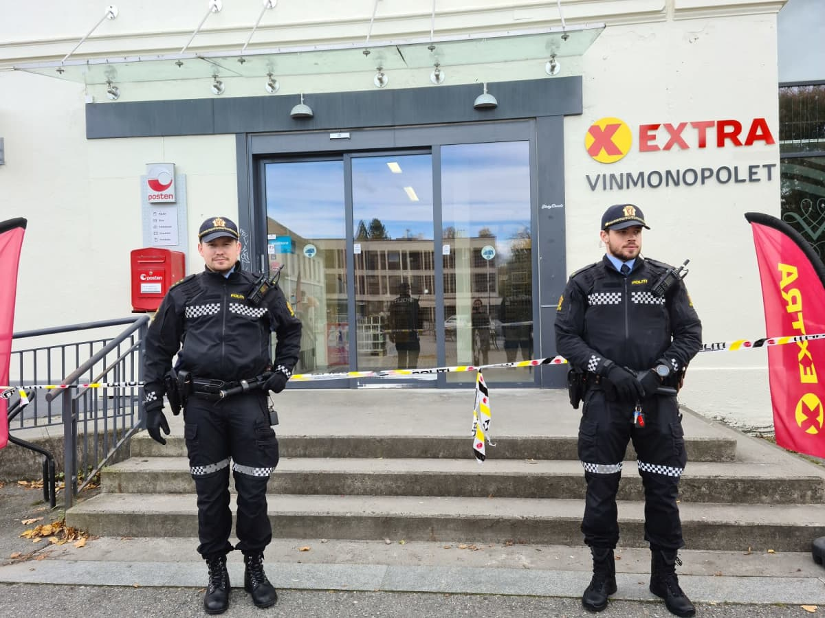 Poliisivartio Kongsbergissa