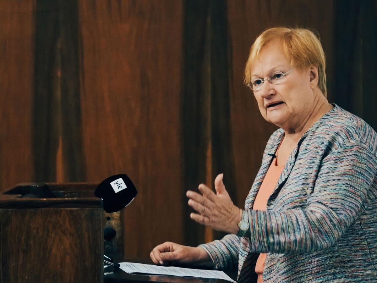 Presidentti Tarja Halosen avauspuhe seminaarissa Helsingin yliopistolla