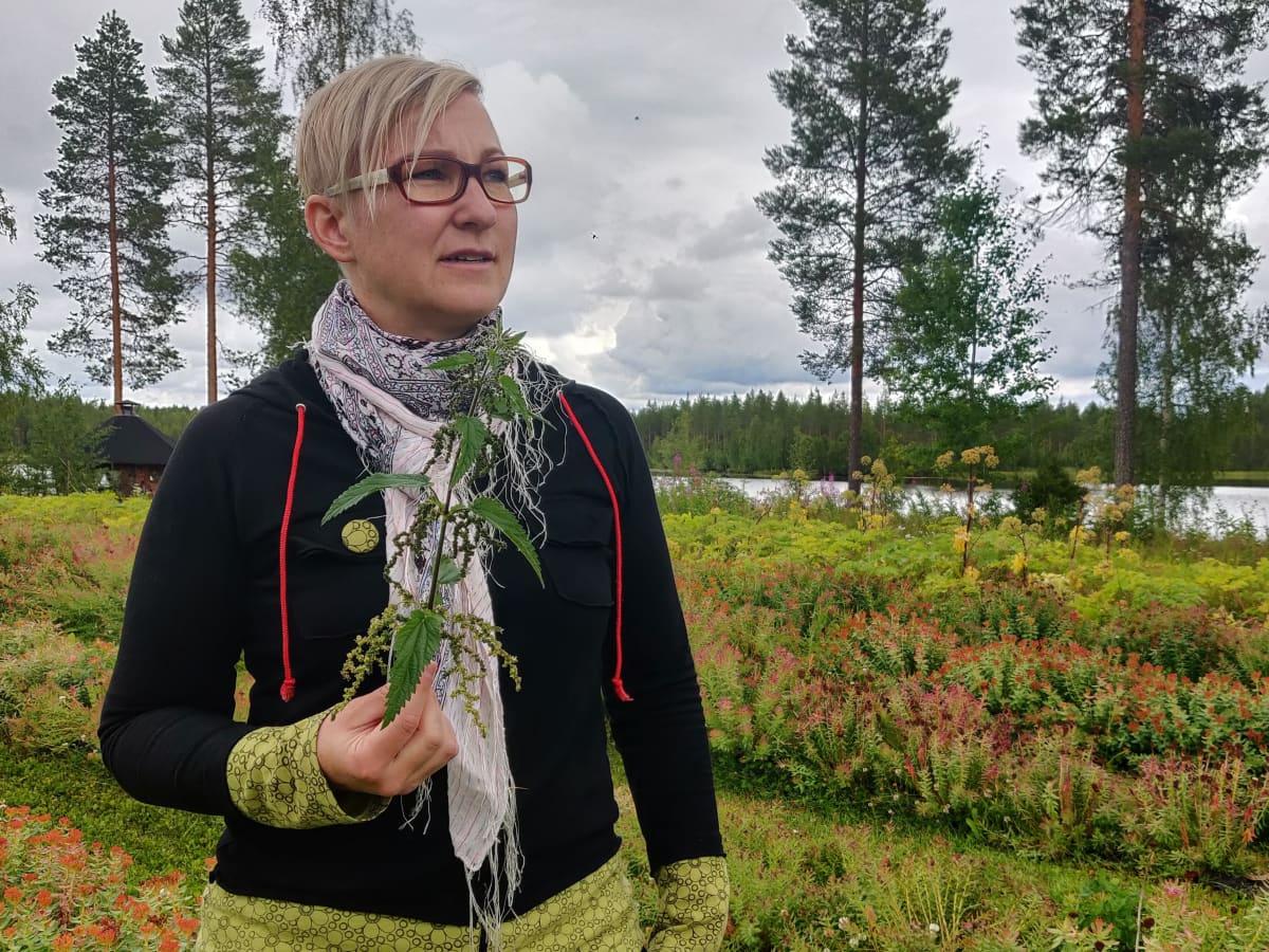 Katja Misikangas nokkonen ruusujuuri luonnontuoteala luonnontuottaja