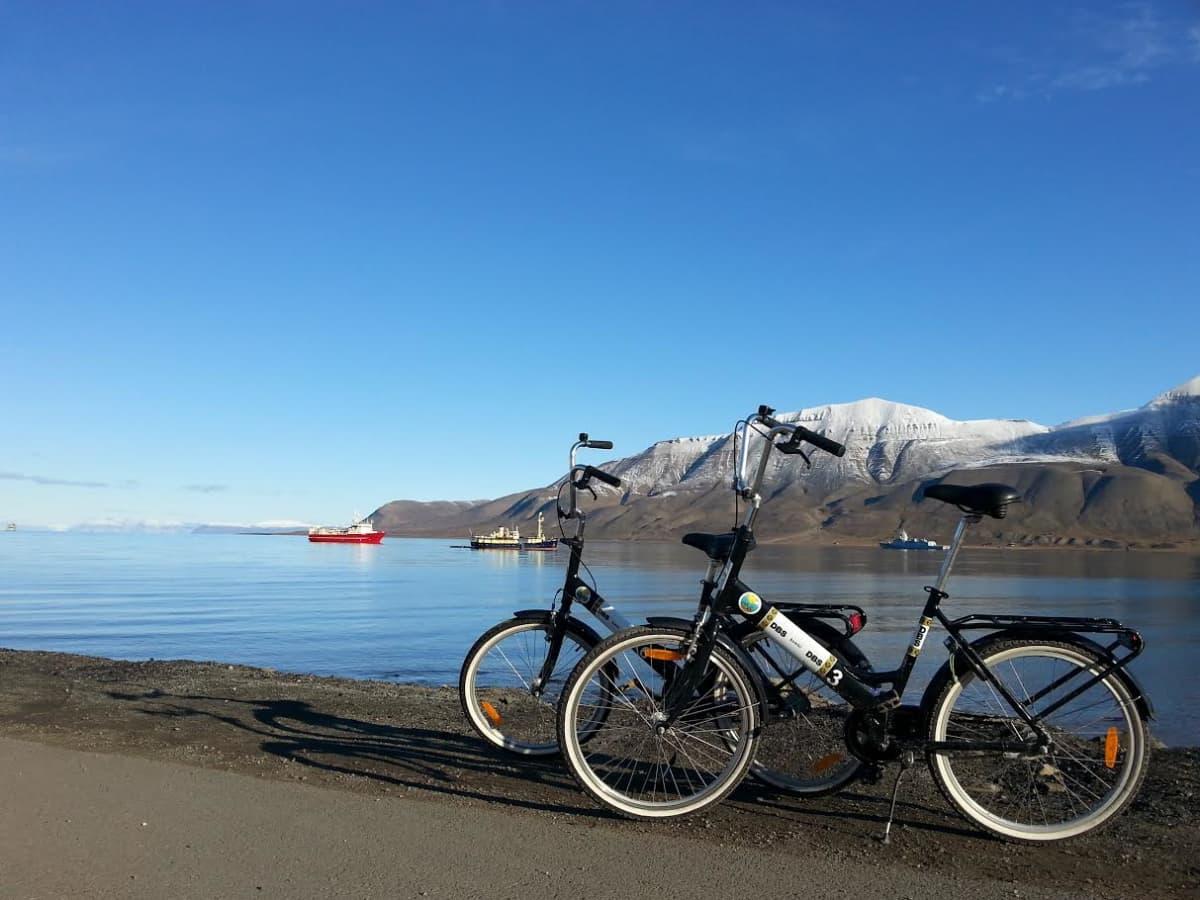 Polkupyörät Huippuvuorilla