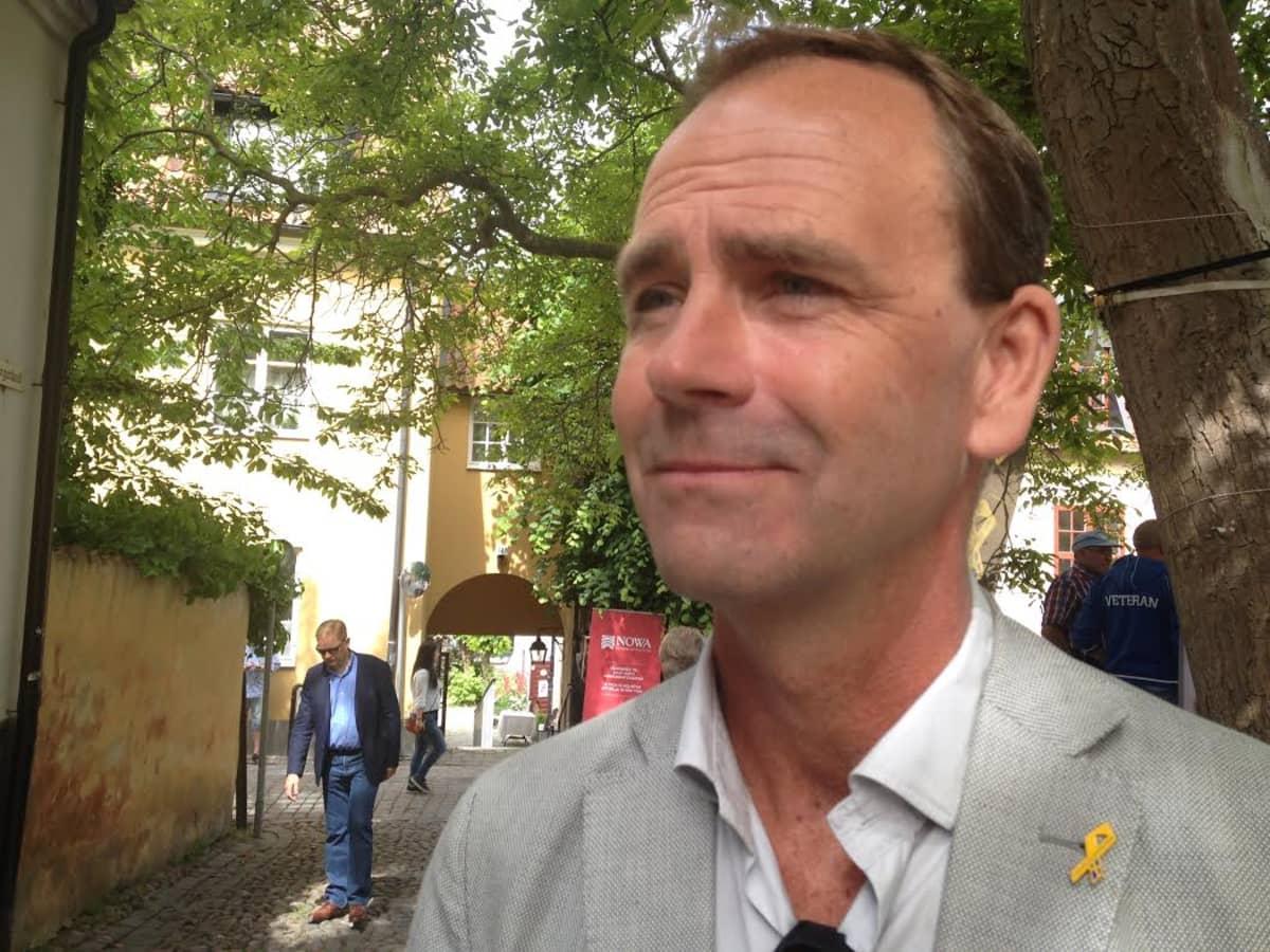 Allan Widman Visbyssä.