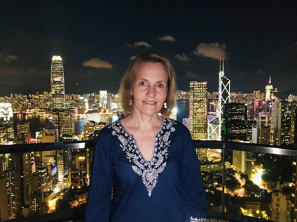 Suomen Hongkongin-pääkonsuli Johanna Karanko.