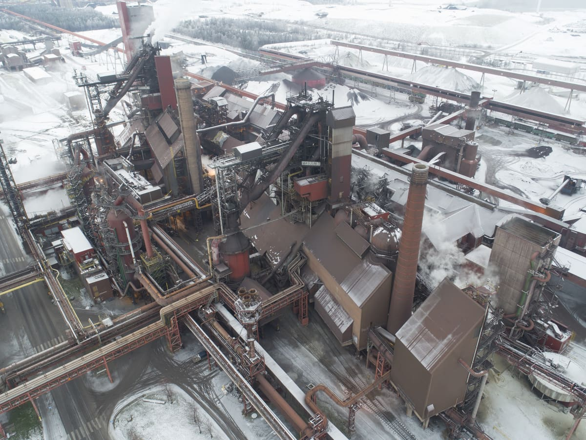 SSAB:n Raahen tehtaan masuunit