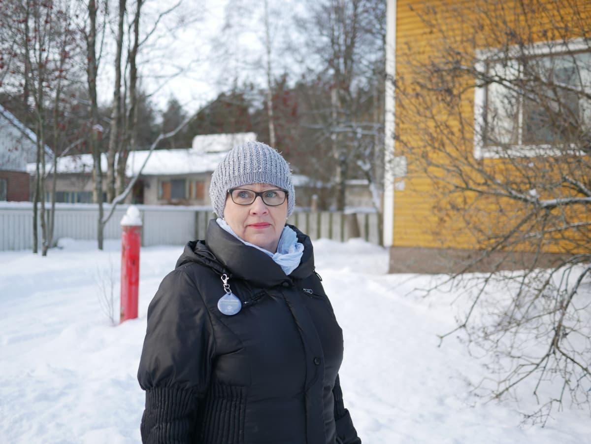 Tuula Sivonen asui tehtaan vieressä räjähdyksen sattuessa.