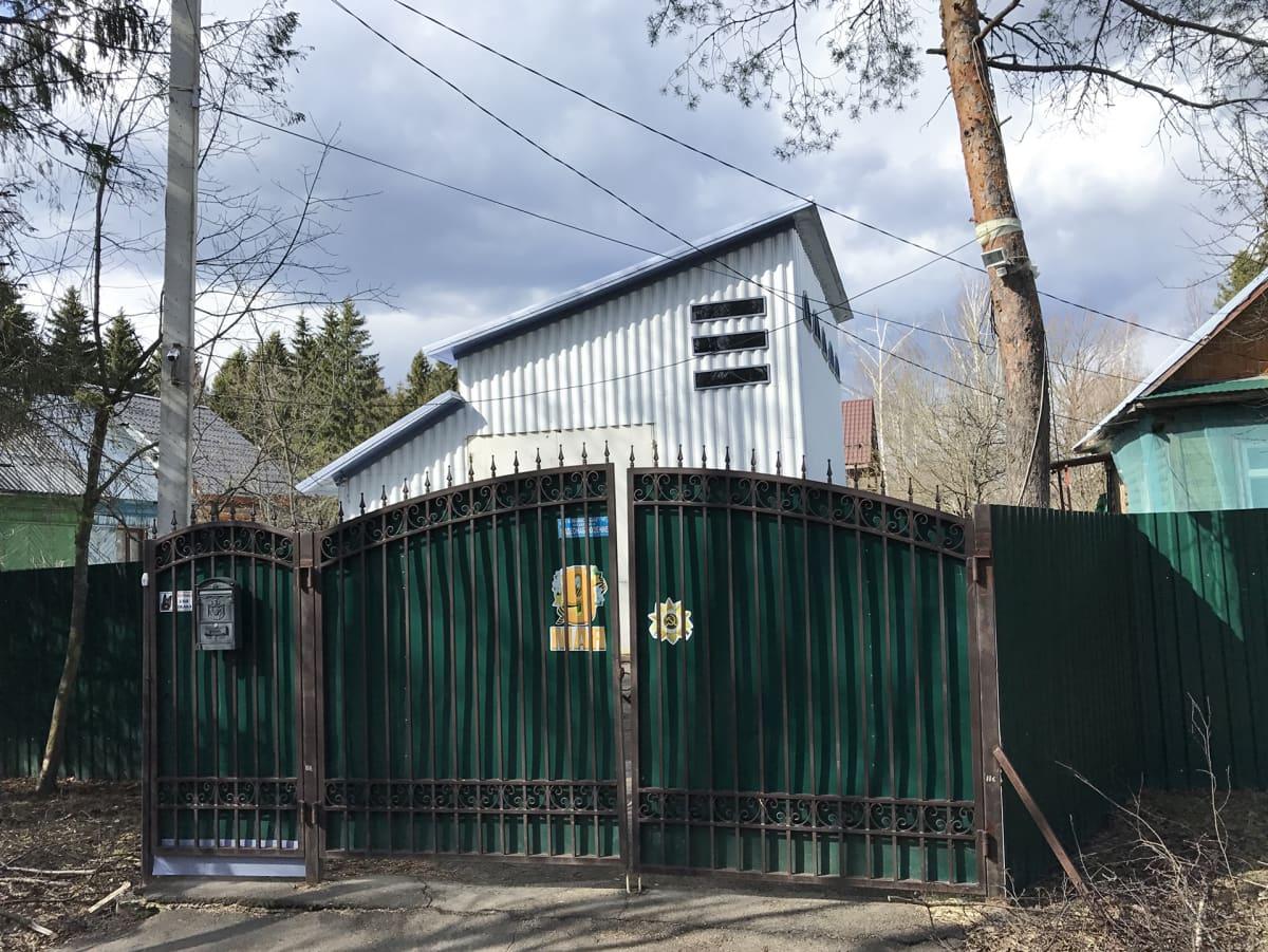 Yksi KrioRusin varastoista sijaitsee omakotitaloalueella Sergijev Posadin kaupungissa Moskovan alueella.