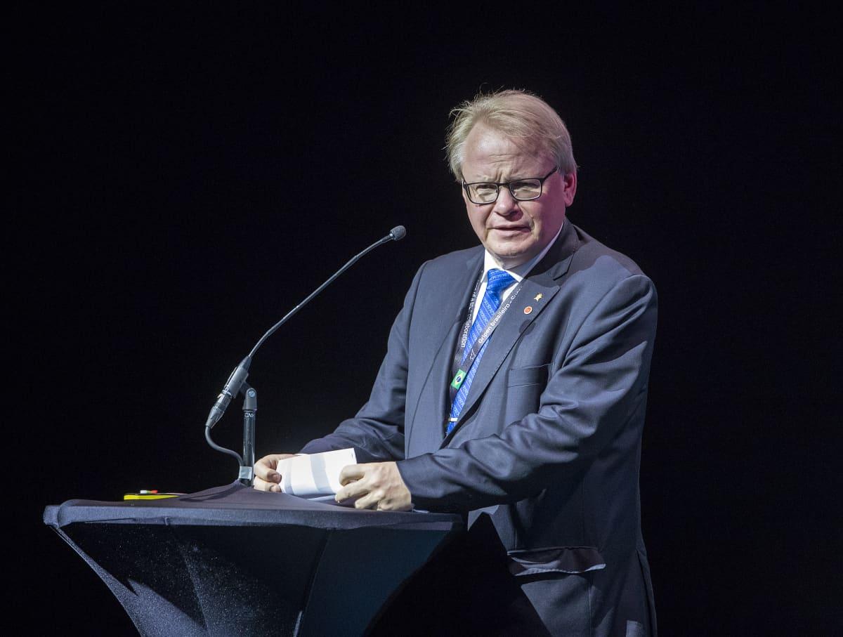 Ruotsin puolustusministeri Peter Hultqvist (sd.)