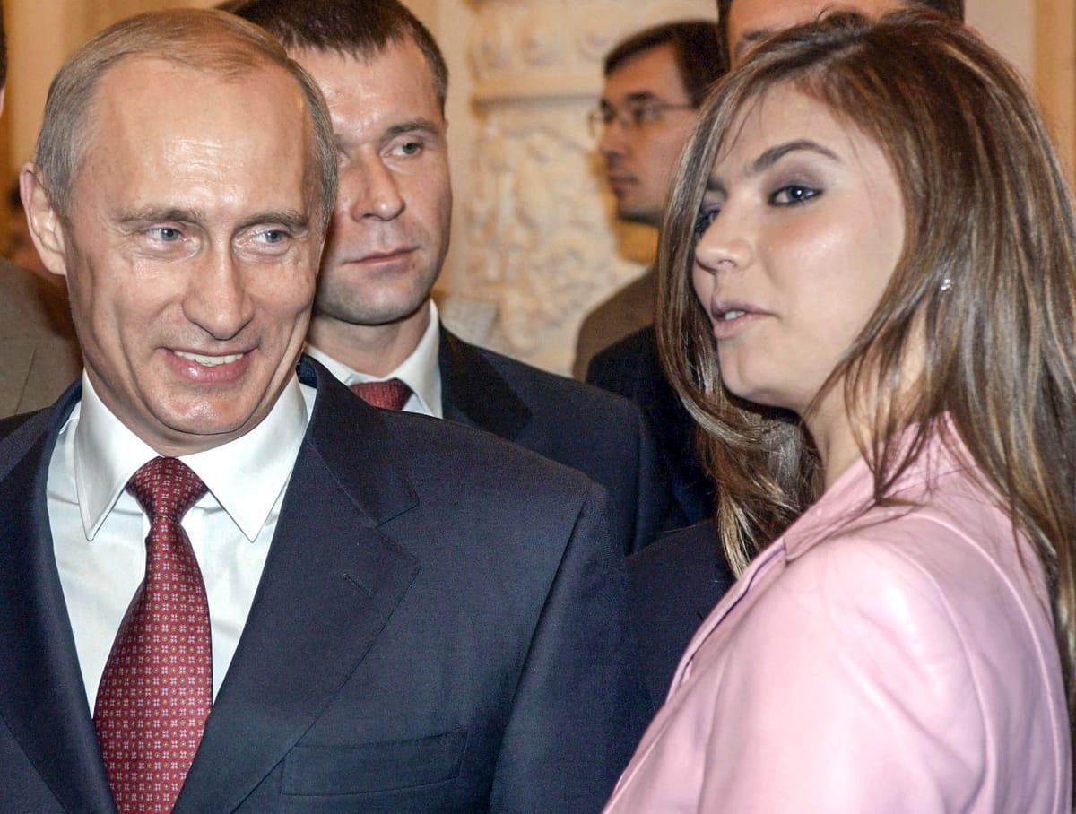 Alina Kabajeva ja Vladimir Putin