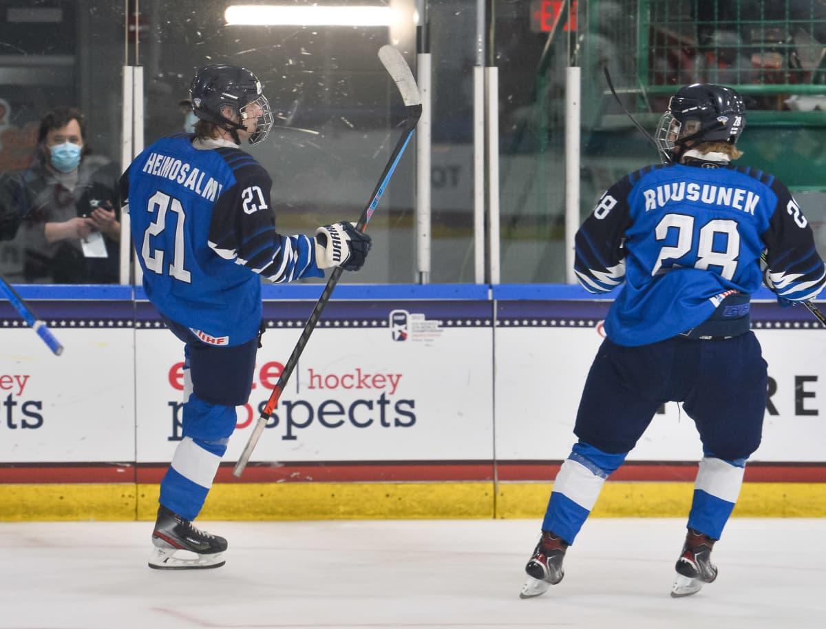 Aleksi Heimosalmi ja Rasmus Ruusunen kuvassa