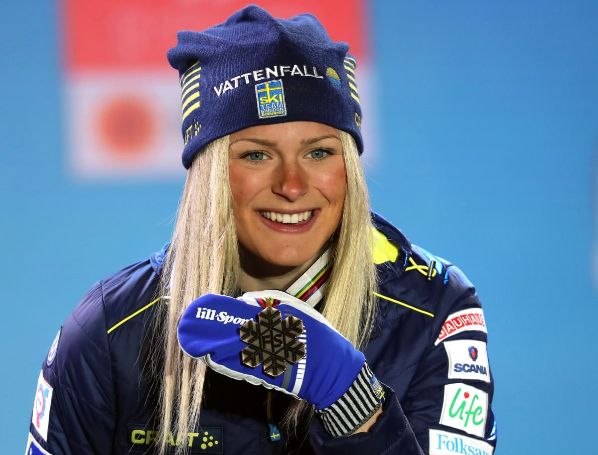 Ruotsalaisesta superlahjakkuudesta Frida Karlssonista tuli viime vuoden helmikuussa aikuisten MM-mitalisti vain 19-vuotiaana.