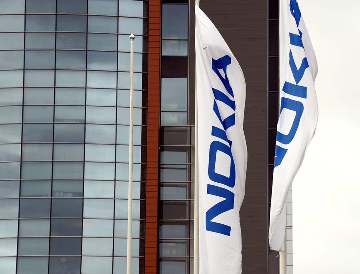 Verkkoyhtiö Nokian pääkonttori Espoossa 14. huhtikuuta 2015.