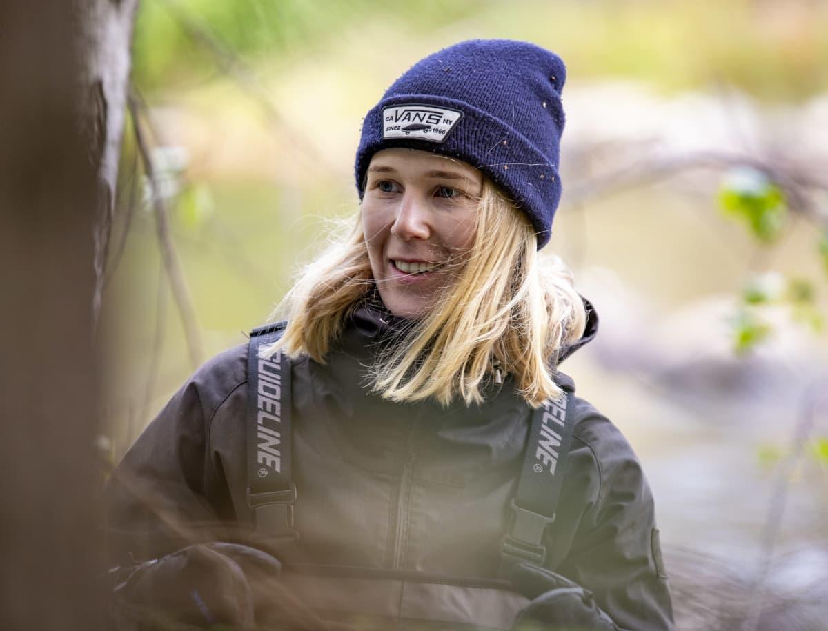 Saimaan vesi- ja ympäristötutkimuksen vesistöasiantuntija Iia-Elisabeth Suomi.