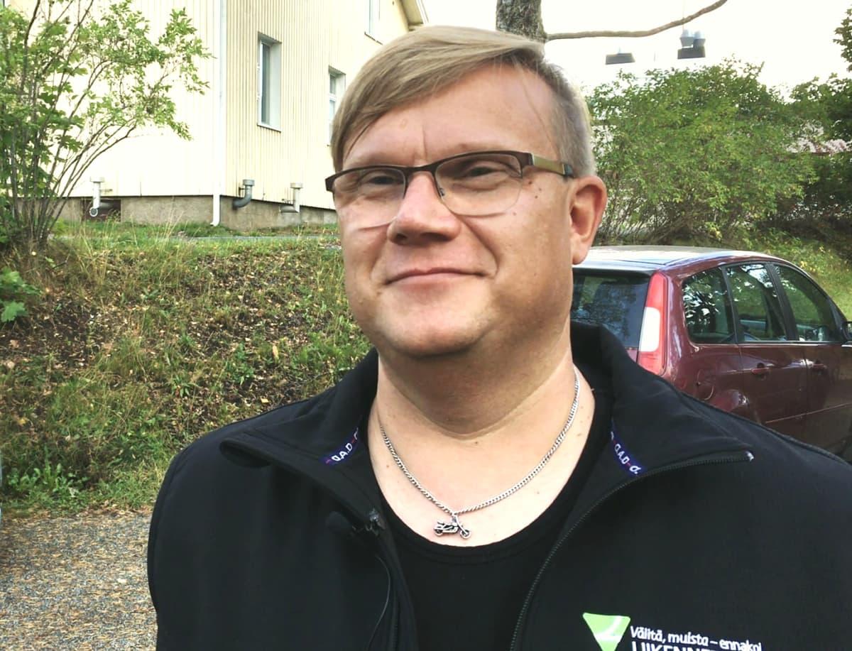 Liikenneturvan koulutusohjaaja Ari-Pekka Elovaara