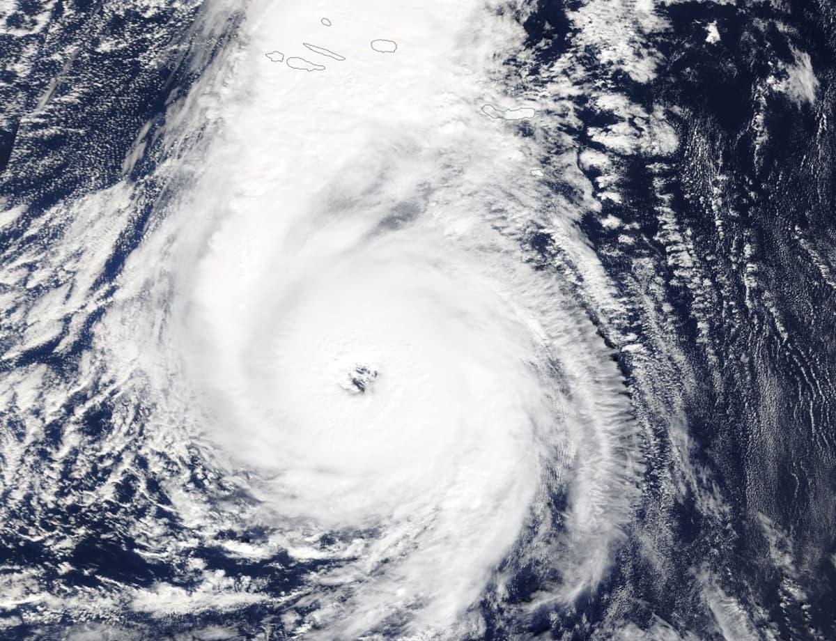 hurrikaanipilvet