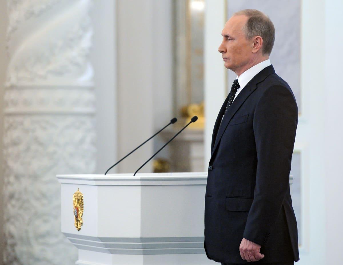 Putinin valtakunnan tilaa koskeva puhe 2015