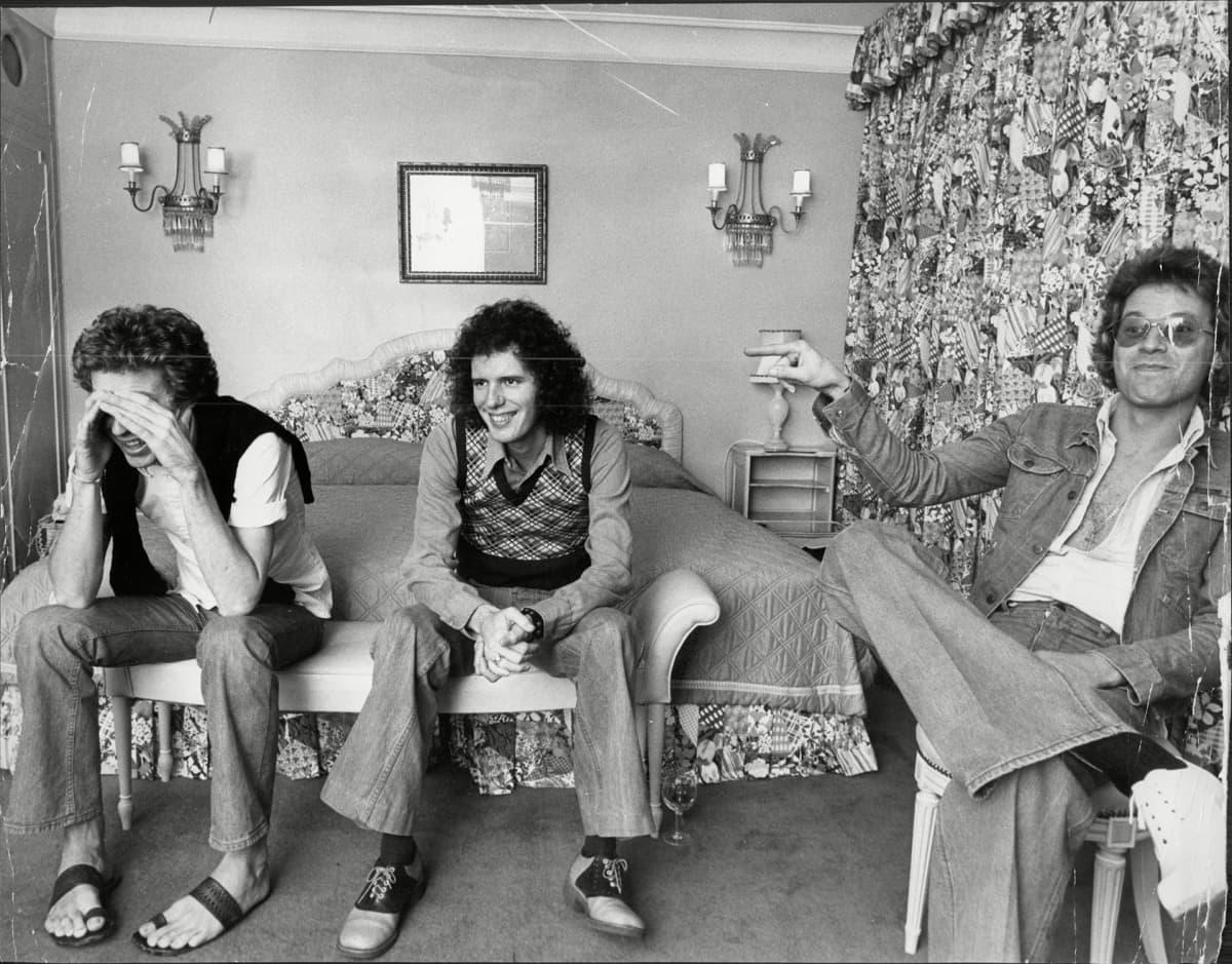 Scott Walker, Gary Leeds ja John Walker.