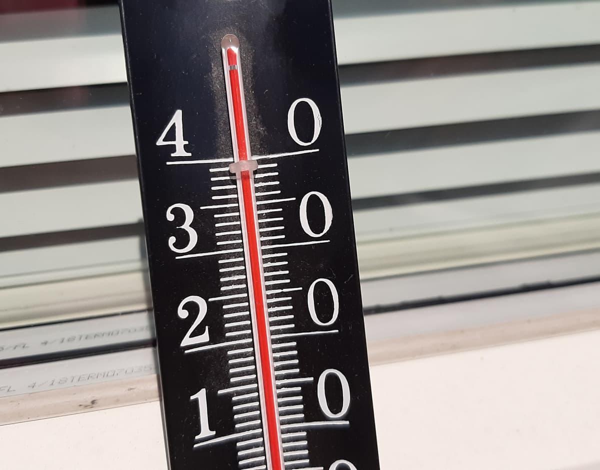 Lämpömittari