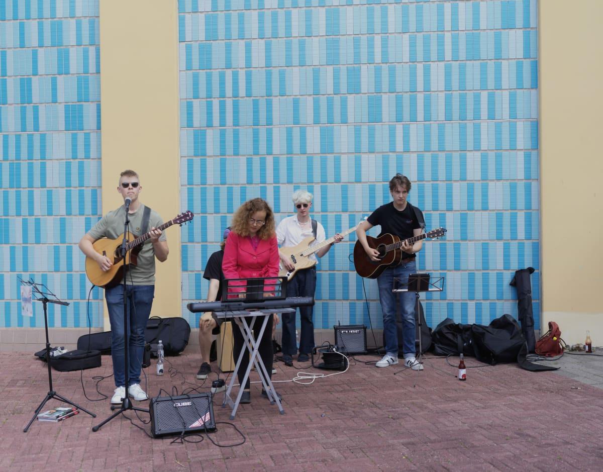 Oulun kaupungin palkkaama bändi