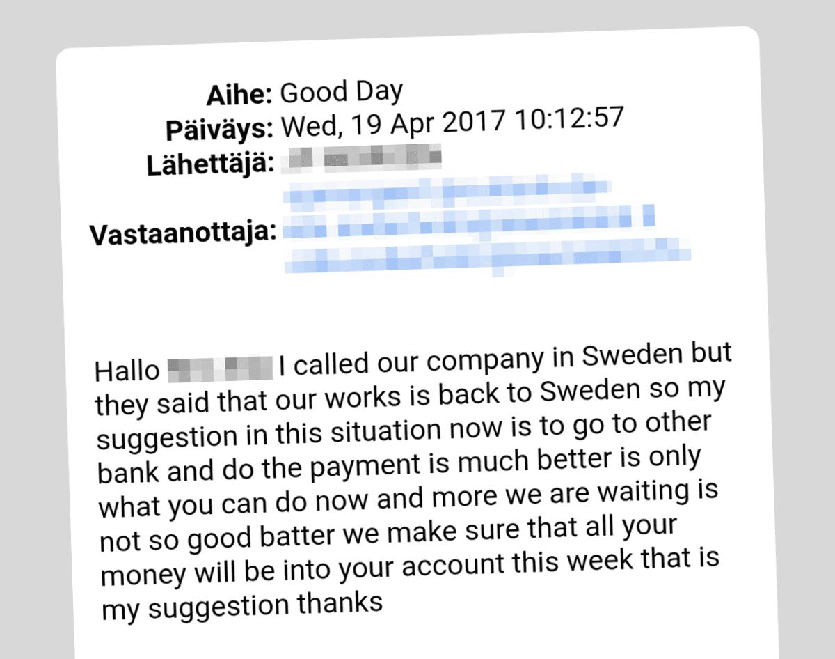 Sähköpostiviesti